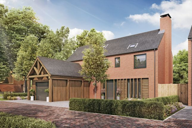Thumbnail Detached house for sale in Culcheth Hall Drive, Culcheth, Warrington