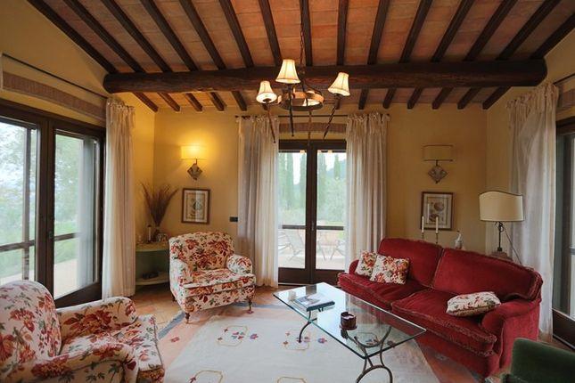 Sitting Room of Il Conventaccio, Todi, Umbria