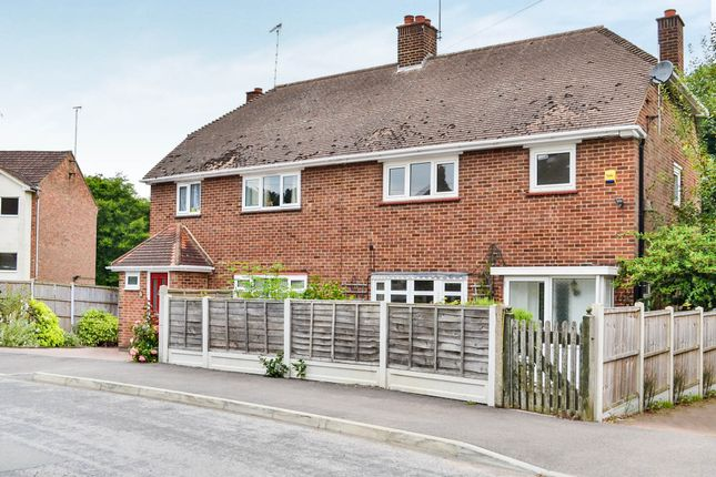 Thumbnail Semi-detached house for sale in Firsgrove Crescent, Warley, Brentwood