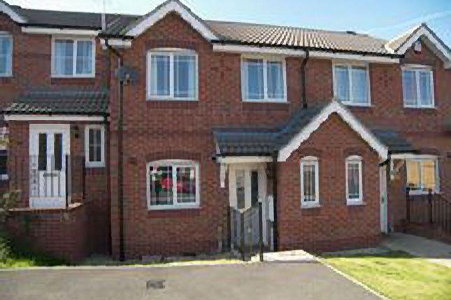 Thumbnail Town house to rent in Bramble Close, South Normanton, Alfreton, Derbyshire