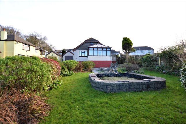 Thumbnail Detached bungalow for sale in Pentalek Road, Camborne, Cornwall