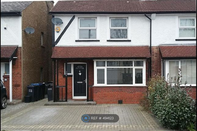 Thumbnail Semi-detached house to rent in Chipstead Valley Road, Coulsdon