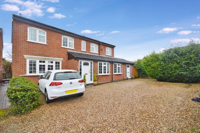 Thumbnail Detached house for sale in Heythrop Close, Oadby, Leicester