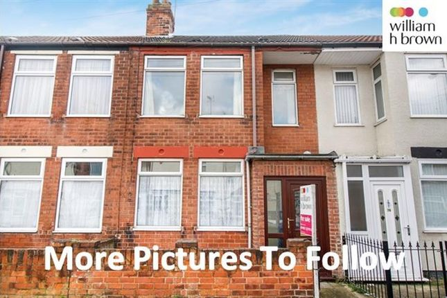 Thumbnail Terraced house to rent in Rensburg Street, Hull
