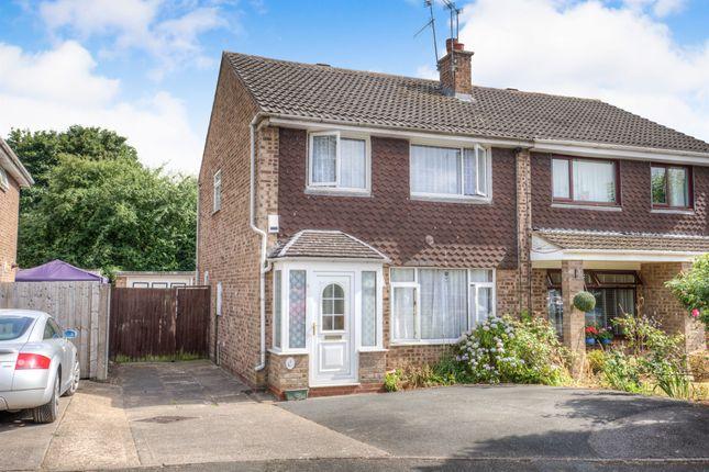 Thumbnail Semi-detached house for sale in Cherington Close, Matchborough East, Redditch