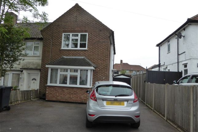 Thumbnail Terraced house to rent in Wolsey Crescent, New Addington, Croydon