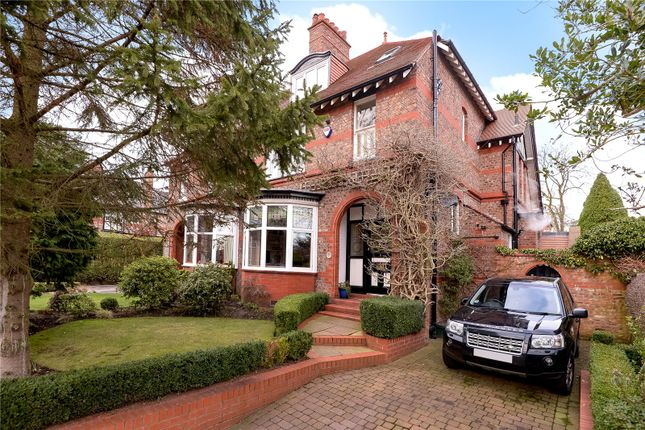 Thumbnail Semi-detached house to rent in Hawthorn Park, Wilmslow, Cheshire