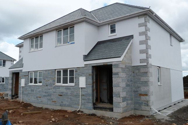Thumbnail Semi-detached house for sale in Bolventor, Launceston