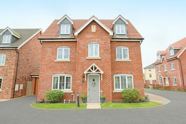 Thumbnail Detached house for sale in Maureen Campbell Drive, Wychwood Village, Weston