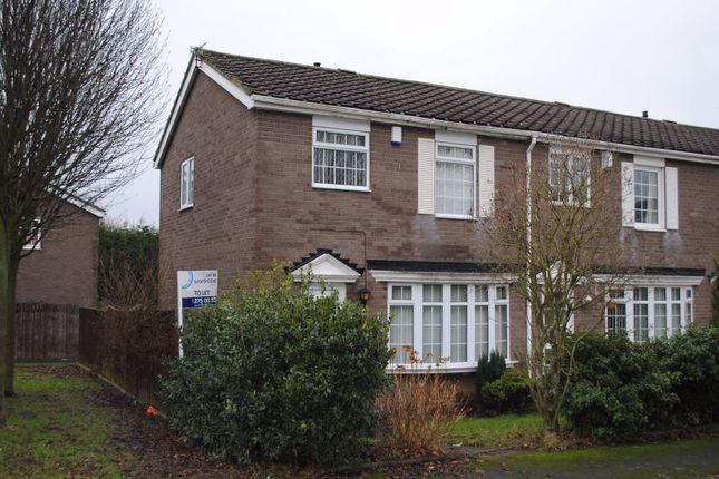 Thumbnail Semi-detached house to rent in Grosvenor Court, Chapel Park, Newcastle Upon Tyne