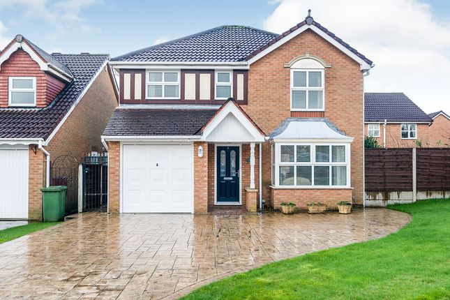 Thumbnail Detached house for sale in Hunter Drive, Radcliffe, Manchester, Greater Manchester