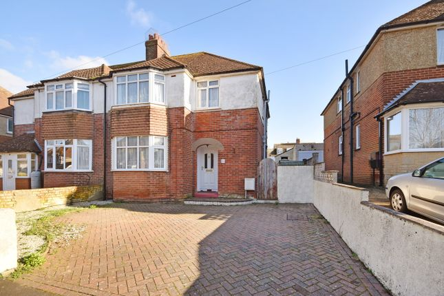 Thumbnail Semi-detached house for sale in Dolphins Road, Folkestone