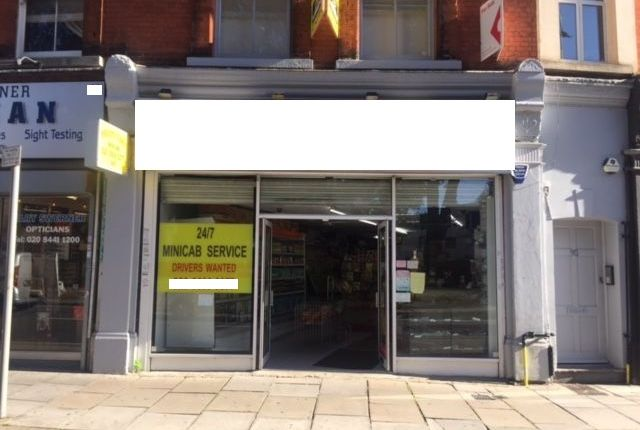 Retail premises to let in High Street, Barnet