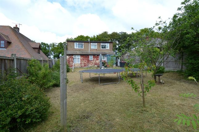 Rear Garden of Radfall Road, Chestfield, Whitstable CT5