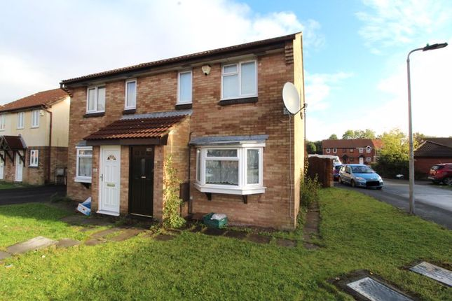 Thumbnail Semi-detached house for sale in Ormonds Close, Bradley Stoke, Bristol
