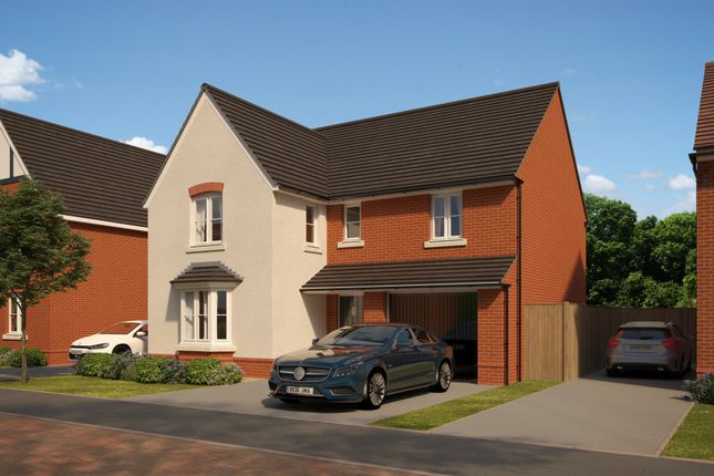 "Thumbnail Detached house for sale in ""Exeter"" at The Walk, Withington, Hereford"