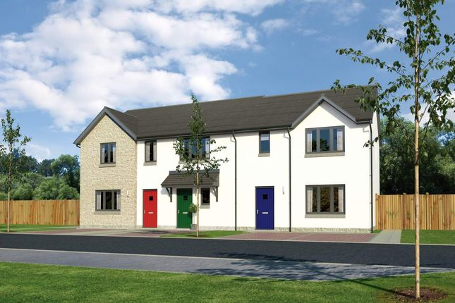 "Thumbnail Terraced house for sale in ""Aversley"" at Old Lang Stracht, Kingswells, Aberdeen"