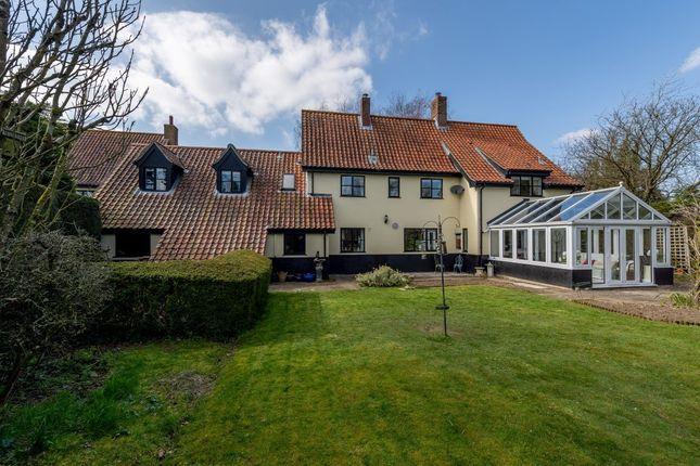 Thumbnail Detached house for sale in Barrows Hole Lane, Little Dunham, King's Lynn