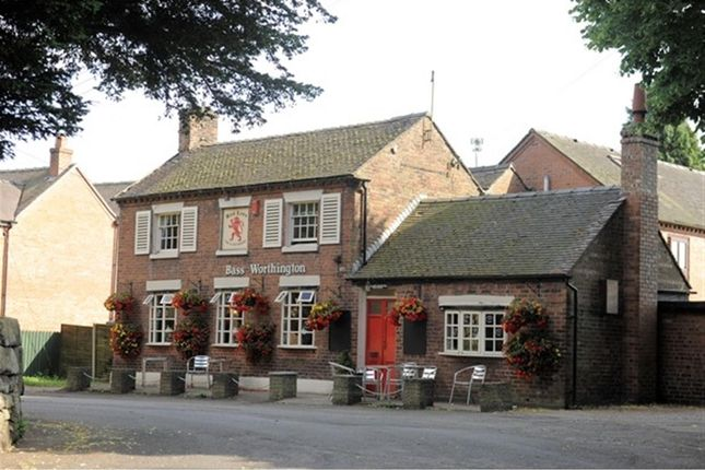 Thumbnail Pub/bar for sale in Staffordshire Moorlands - Character Village Freehouse ST10, Checkley, Staffordshire