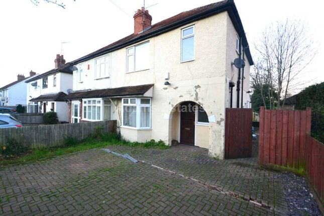 Thumbnail Semi-detached house to rent in Wokingham Road, Reading, Berkshire