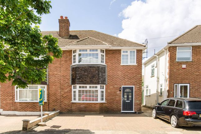 Thumbnail Semi-detached house to rent in Crest Gardens, Ruislip