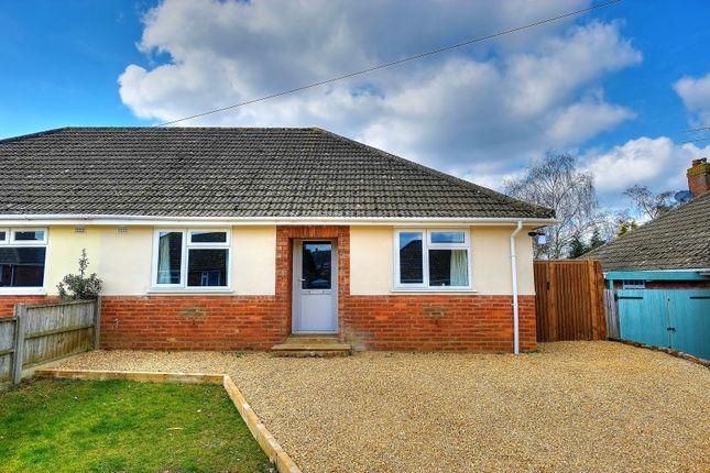 Thumbnail Semi-detached bungalow for sale in Moore Avenue, Norwich