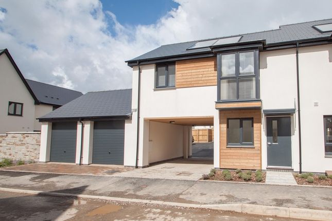 Thumbnail End terrace house for sale in Albacore Drive, Plymouth
