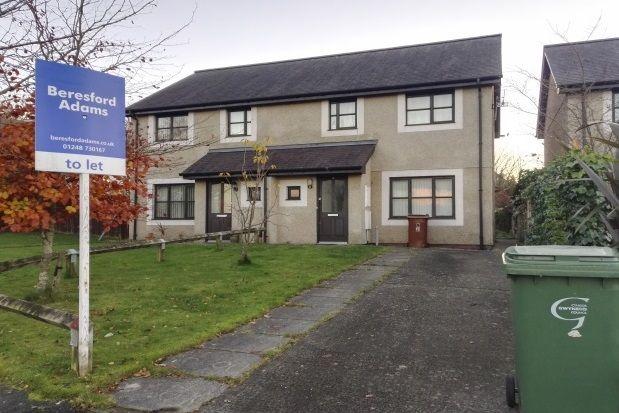 Thumbnail Property to rent in Lon Mieri, Bangor