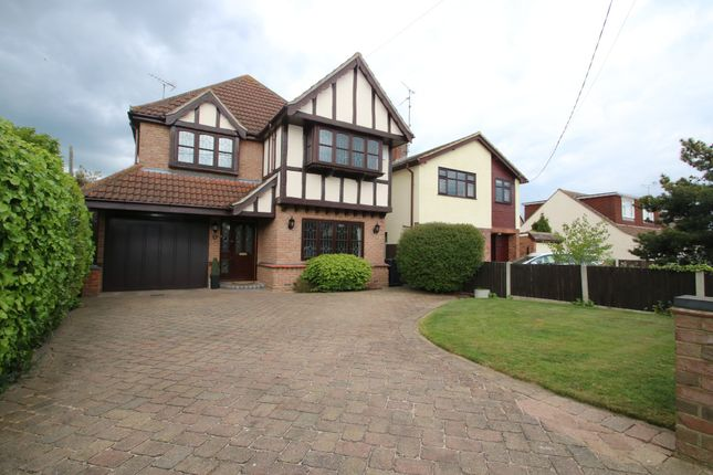 Thumbnail Detached house for sale in Poplars Avenue, Hockley