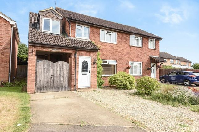Thumbnail Semi-detached house for sale in Ethelhelm Close, Abingdon