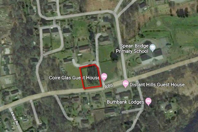 Thumbnail Land for sale in Plot 1, Spean Bridge, Fort William PH344EU