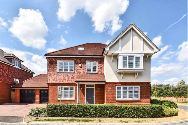 Thumbnail Detached house for sale in Cuckoo Crescent, Blackwater, Camberley