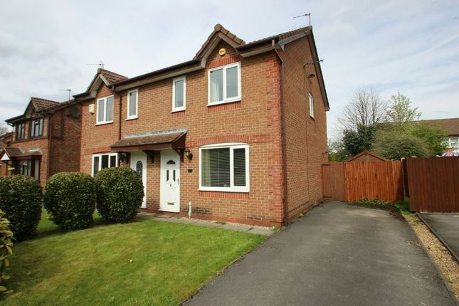Thumbnail Semi-detached house for sale in Tunshill Road, Wythenshawe, Manchester