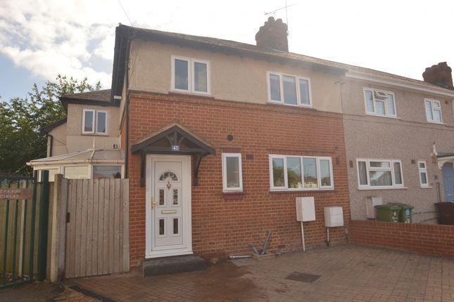 Thumbnail End terrace house for sale in Crescent Road, Dagenham