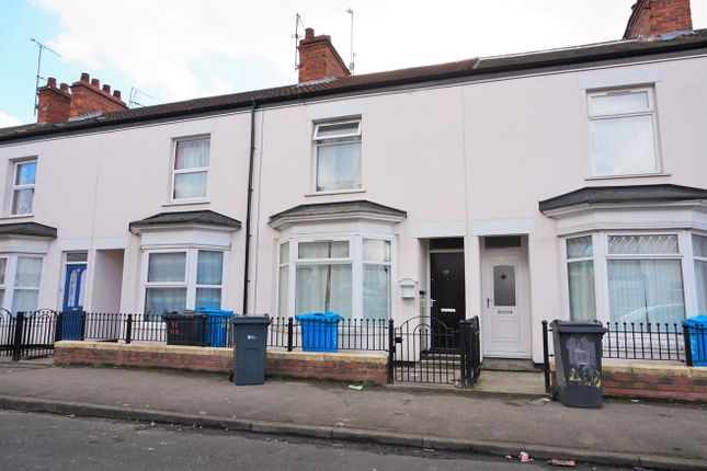 Thumbnail Terraced house for sale in Albemarle Street, Hull