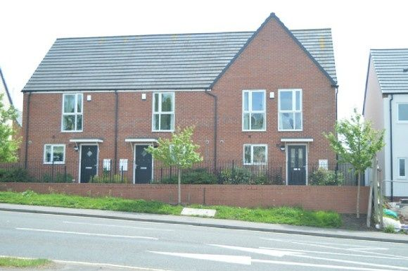 Thumbnail Town house to rent in Comet Avenue, Newcastle-Under-Lyme
