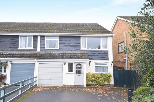 Thumbnail Semi-detached house for sale in Masefield Road, Stratford-Upon-Avon