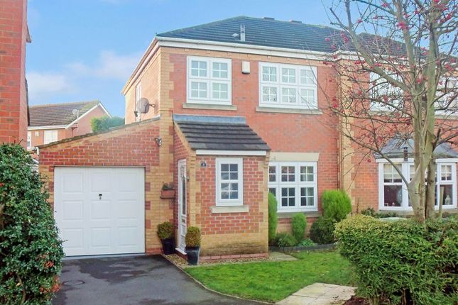 Thumbnail Semi-detached house to rent in Cursley Way, Chilwell, Nottingham