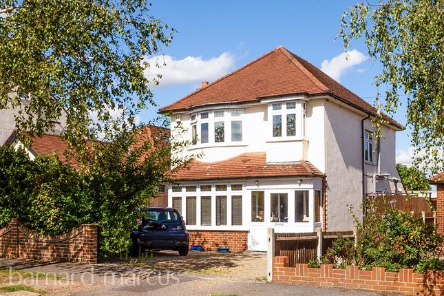 Thumbnail Detached house for sale in Highfield Drive, Ewell, Epsom