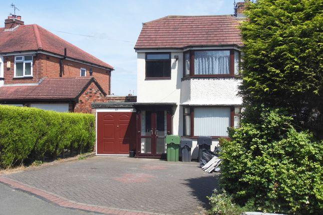 Thumbnail Semi-detached house to rent in Gunner Lane, Rubery, Birmingham