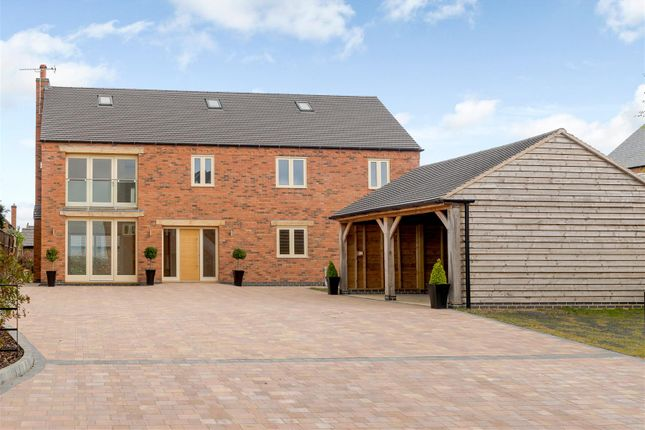Thumbnail Detached house for sale in Cooks Lane, Sapcote, Leicestershire