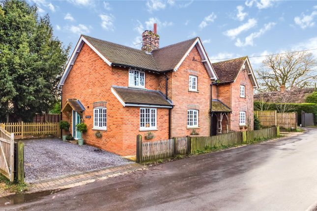 Semi-detached house for sale in School Cottages, Cock Lane, Bradfield Southend, Reading