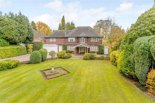 Thumbnail Detached house for sale in Aldridge Road, Little Aston, Suton Coldfield