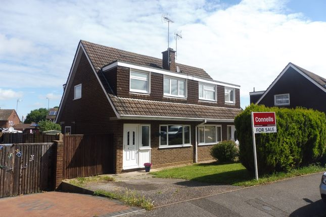 3 bed semi-detached house for sale in Hunter Drive, Bletchley, Milton Keynes