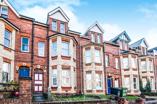 Thumbnail Terraced house for sale in Old Tiverton Road, Exeter
