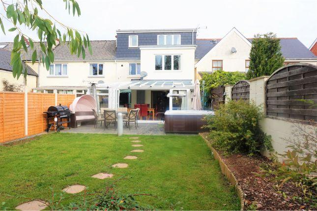 Thumbnail Terraced house for sale in Caxton Row, Tiverton