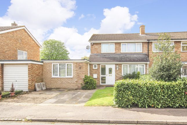Thumbnail Semi-detached house for sale in Maltings Way, Great Barford