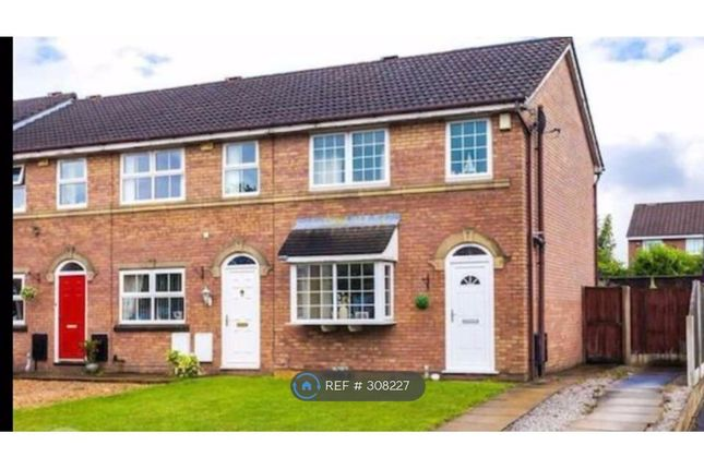 Thumbnail End terrace house to rent in Linnets Wood Mews, Worsley, Manchester