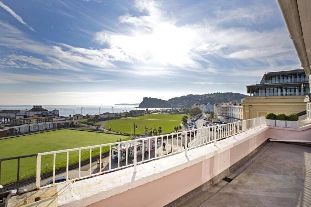 Thumbnail Flat for sale in Den Crescent, Teignmouth, Devon