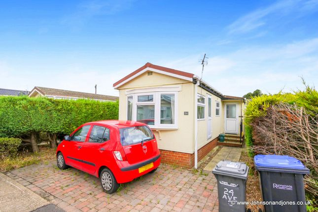 Mobile/park home for sale in Meadowlands, Addlestone